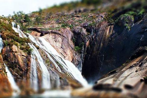 La cascada de Ézaro