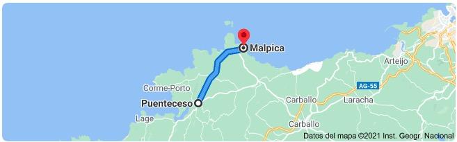 ¿Cómo ir a Costa da Morte desde Santiago?