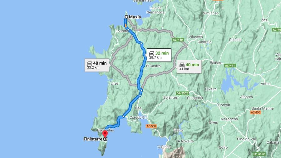 Las Rutas de la Costa da Morte en Galicia